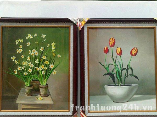 Bộ sưu tập tranh sơn dầu