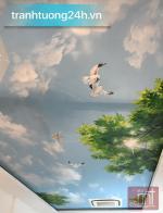 Vẽ trần mây
