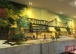 Vẽ tranh tường Lion Coffee, Đông Anh, Hn