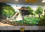 Vẽ tranh tường cafe số 2 Hàng Bài, Hoàn Kiếm, Hn