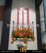 Vẽ tranh tường quán trà sữa Taster's Choice, 212 C Nguyễn Trãi, Thanh Xuân, HN