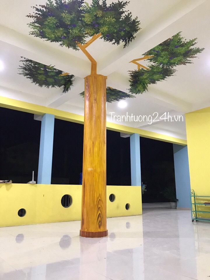 Trang trí cho trường MN Nắng Hồng, Nam Hồng, Đông Anh