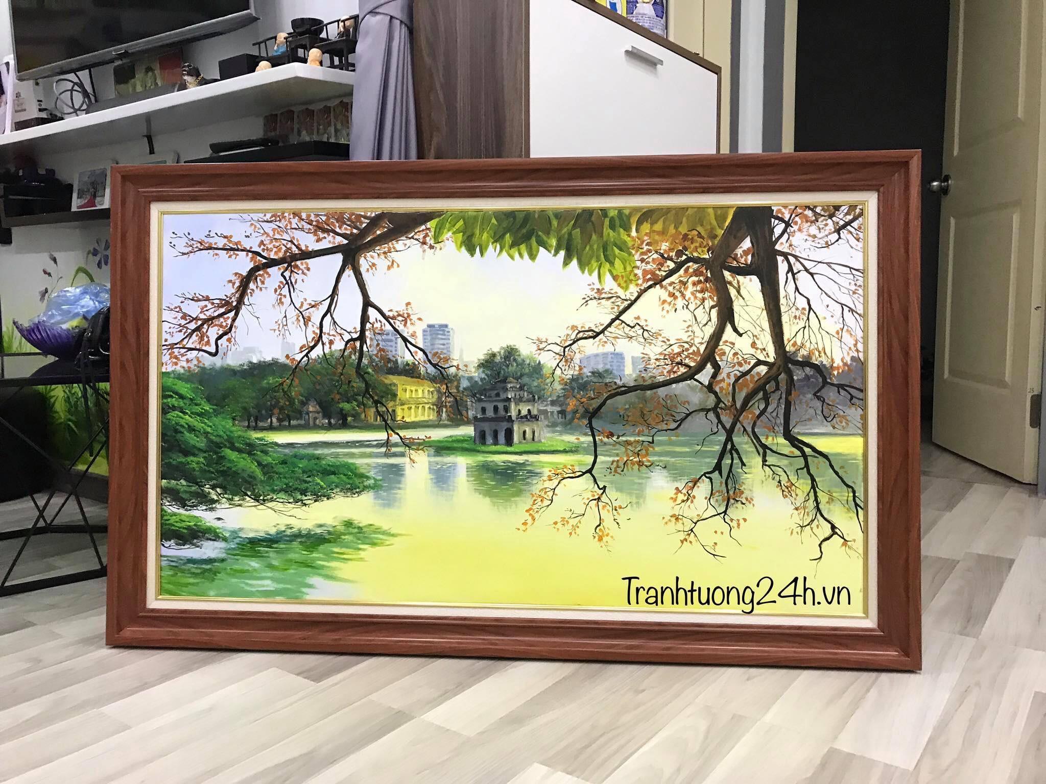 Tranh Phong Cảnh Hồ Gươm