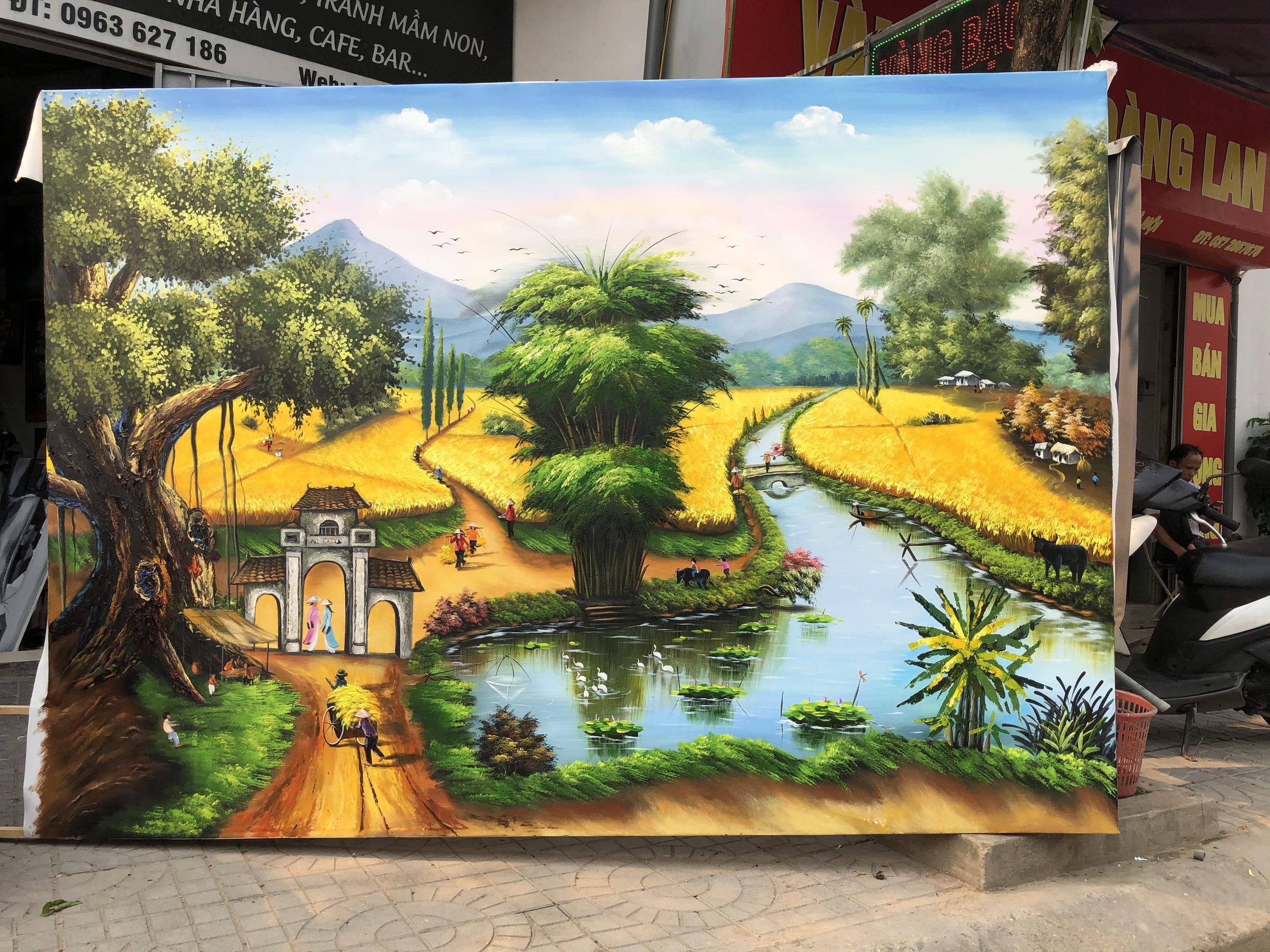 Tranh Phong Cảnh Hùng Vĩ