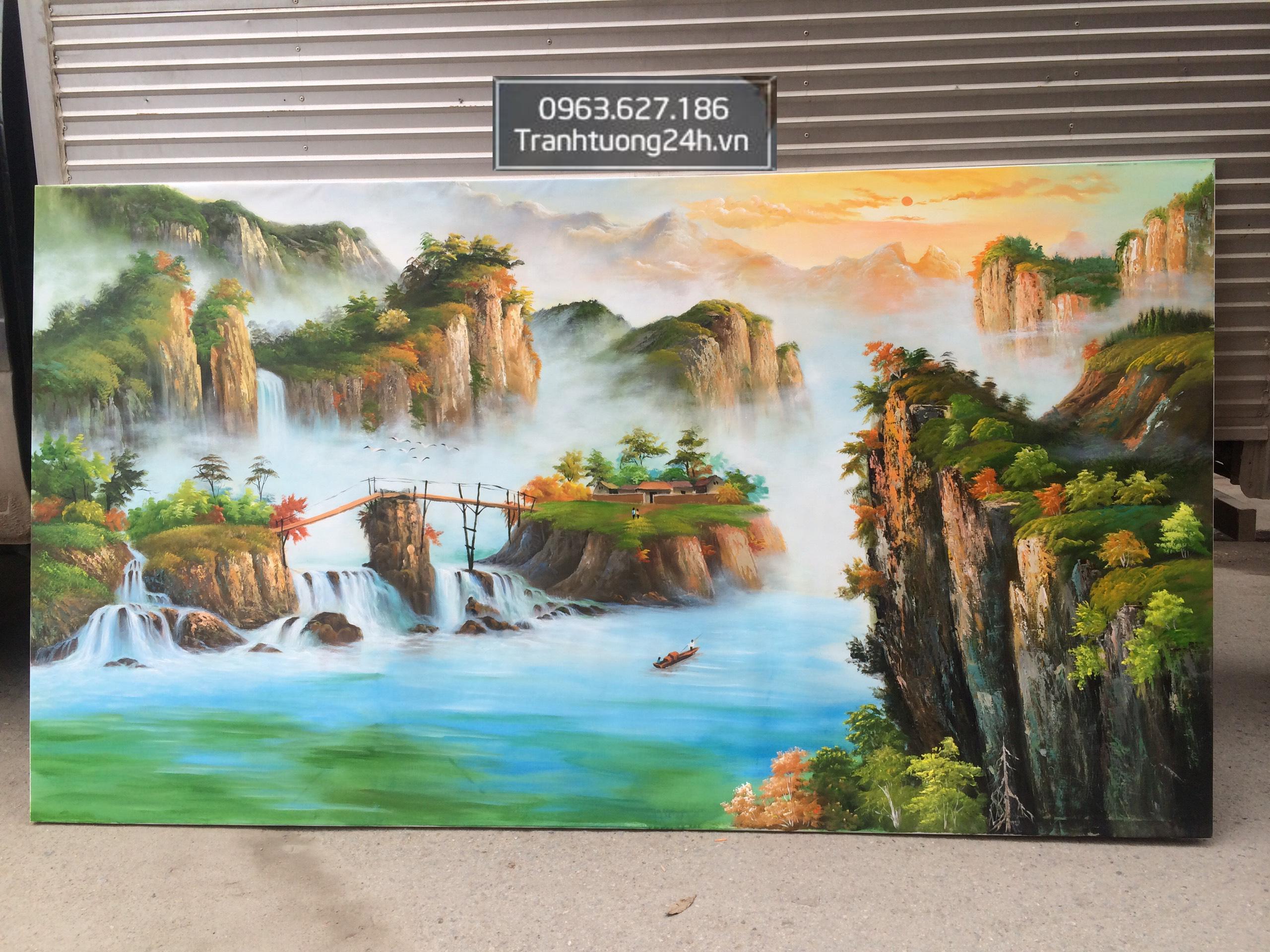 Tranh Phong Cảnh Non Nước Đẹp