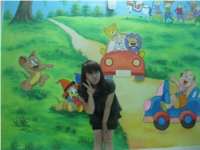 Tranh Tường Phòng Trẻ Em