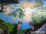 Tranh Tường Nhà Hàng anh Cường số 672 Quang Trung, Hà Đông, Hn
