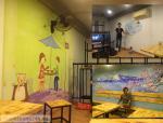 Vẽ tranh tường quán kem Fuji Snow - 241 Khâm Thiên, Đống Đa, Hn