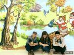 Vẽ tranh tường khu vui chơi Big C - Nam Định