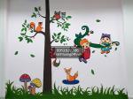 Tranh vẽ tường trường mầm non tuổi thần tiên (wonderland)