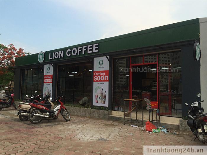 Vẽ Tranh Tường Coffee Lion - Số 4 Thượng Đình